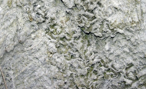 flowing limestone closeup