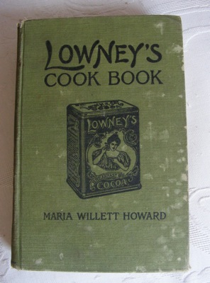 lowney's cook book, 1907