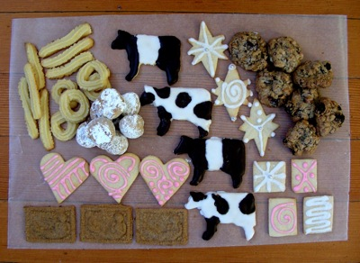 5 kinds of holiday cookies