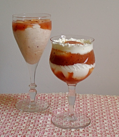 gooseberry fool prepared 2 ways