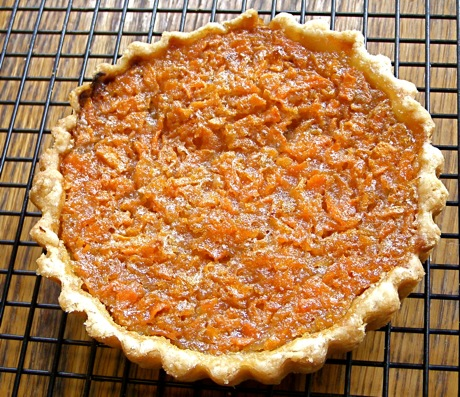 maple carrot tartlet