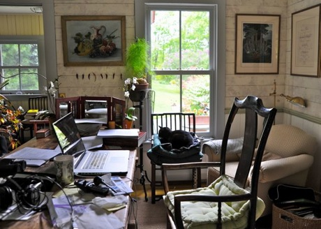margaret roache's desk