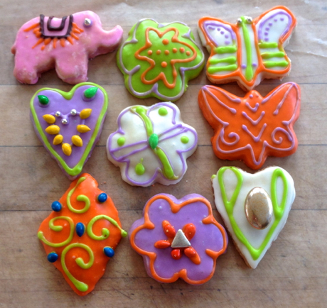 assorted figolli cookies